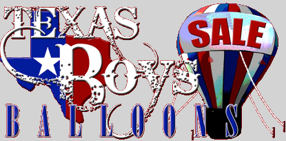 Texas Boys Balloons Logo Image