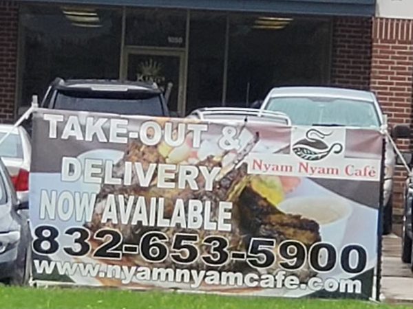 Take Out and Delivery Banner