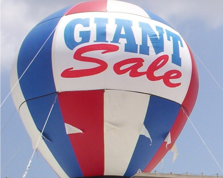 Inflatable Advertising Houston, Advertising Balloons Houston