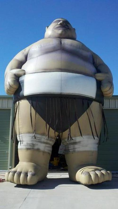 Sumo Wrestler Inflatable