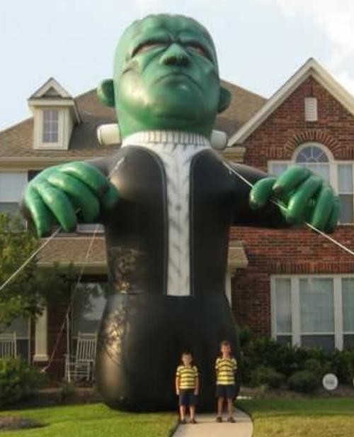 Hallowe'en Monster Balloon