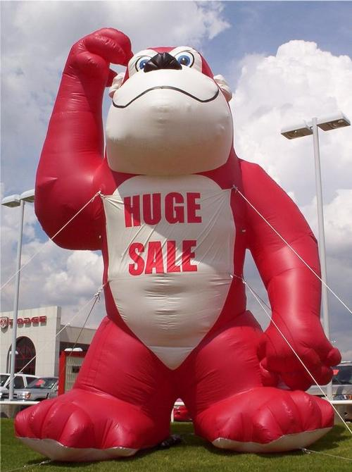 King Kong Red Inflatable