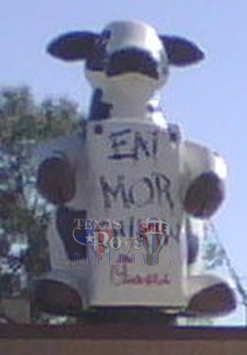 Chick-Fil-A Cow Balloon