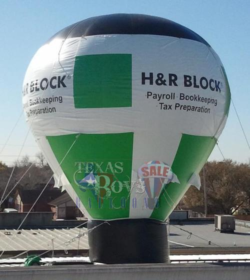 H&R Block Hot Air Balloon Inflatable